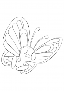 <b>Butterfree</b> (No.12) : Pokemon (Generation I)