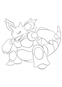 <b>Nidoking</b> (No.34) : Pokemon (Generation I)