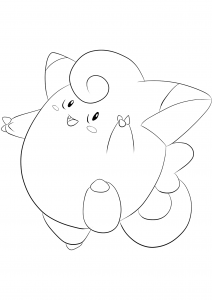 <b>Clefairy</b> (No.35) : Pokemon (Generation I)