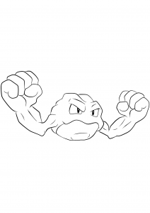 <b>Geodude</b> (No.74) : Pokemon (Generation I)