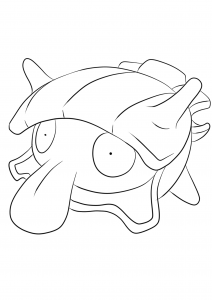 Vaporeon No 134 Pokemon Generation I All Pokemon Coloring Pages Kids Coloring Pages