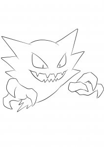 <b>Haunter</b> (No.93) : Pokemon (Generation I)