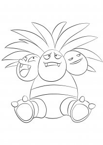 <b>Exeggutor</b> (No.103) : Pokemon (Generation I)