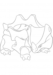 <b>Rhyhorn</b> (No.111) : Pokemon (Generation I)
