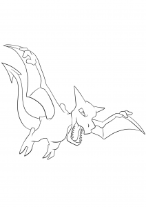 <b>Aerodactyl</b> (No.142) : Pokemon (Generation I)