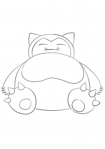 <b>Snorlax</b> (No.143) : Pokemon (Generation I)