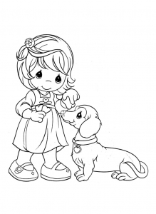 coloring-page-precious-time-to-print-for-free
