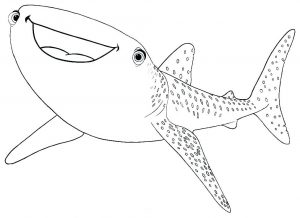 coloring-page-sharks-free-to-color-for-children