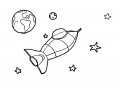 coloring-page-space-to-print