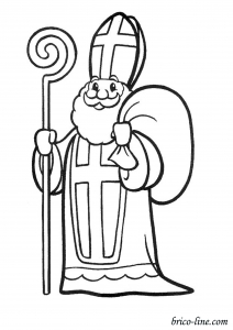 coloring-page-st-nicolas-free-to-color-for-kids