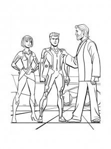 coloring-page-tron-to-color-for-kids
