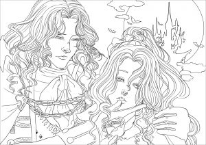 coloring-page-vampires-for-children
