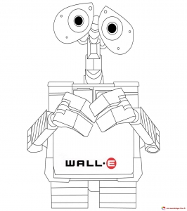 coloring-page-wall-e-to-download-for-free