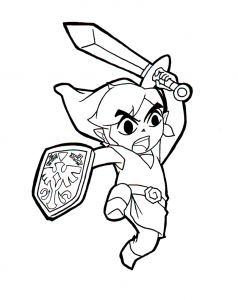 coloring-page-zelda-to-color-for-kids