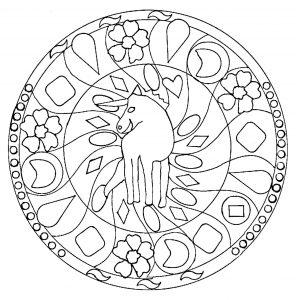 Licorne 100 Mandalas Zen Anti Stress