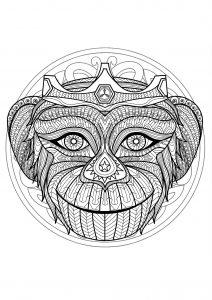 Tete De Mort 100 Mandalas Zen Anti Stress