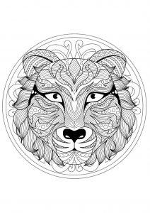 Tigre 100 Mandalas Zen Anti Stress