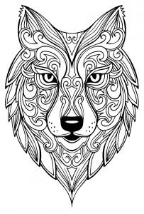 Loup 100 Mandalas Zen Anti Stress