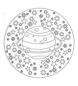 Planète Terre 100 Mandalas Zen Anti Stress