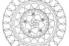 Coeur 100 Mandalas Zen Anti Stress