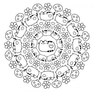 Mandala Chat 100 Mandalas Zen Anti Stress