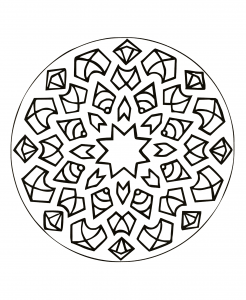 Coloriage Anti Stress Voiture.Voiture 100 Mandalas Zen Anti Stress