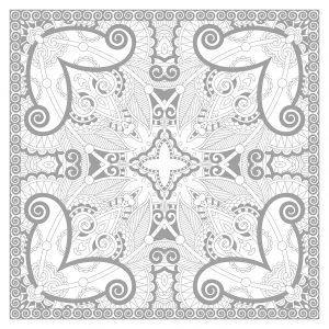 thumbs coloring squared plex mandala by karakotsya 1