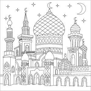 Oriental Sheherazade Orient Et 1001 Nuits Coloriages Difficiles Pour Adultes