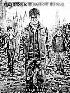 Harry potter - Coloriages Difficiles pour Adultes