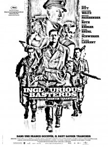 Coloriage film inglorious basterds