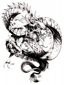 coloriage-adulte-dragon-chine