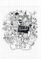 coloriage-doodle-rentree-des-classes-sur-cahier-par-9george