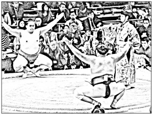 coloriage-japon-sumo-3