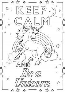Keep Calm and be an Unicorn (2)