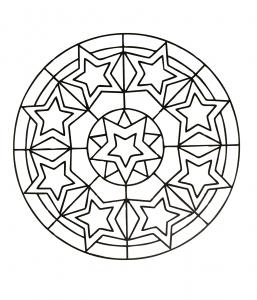 Mandalas A Telecharger Gratuitement 18 Mandalas Coloriages Difficiles Pour Adultes