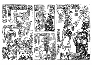 coloriage-art-maya-british-museum-10