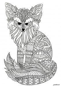Fennec (Zentangle)