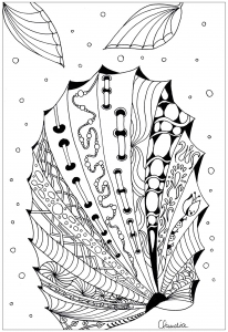 coloriage-zentangle-simple-5-par-claudia