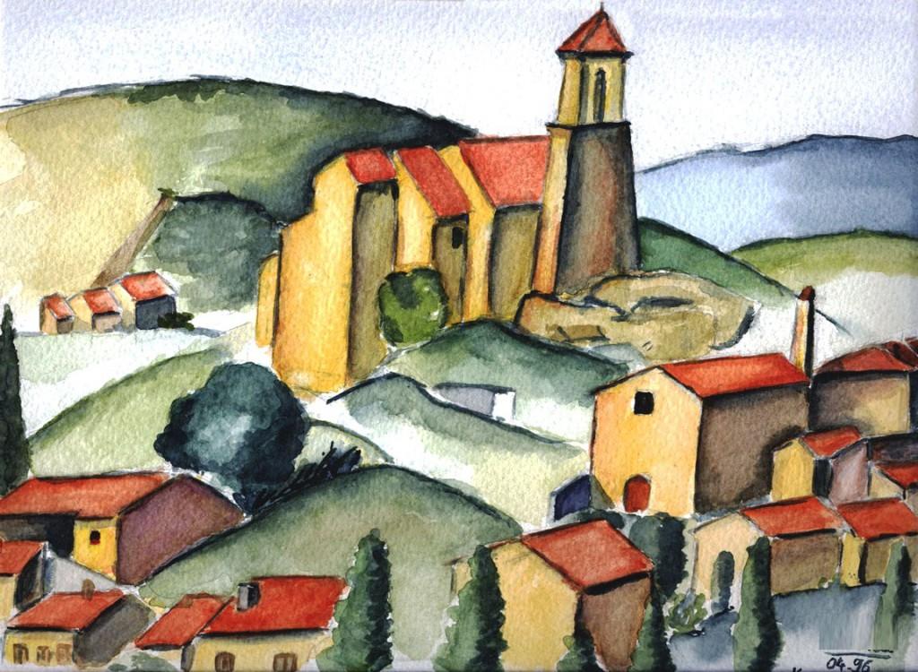 1996-04 Gardanne (d'après Cézanne)