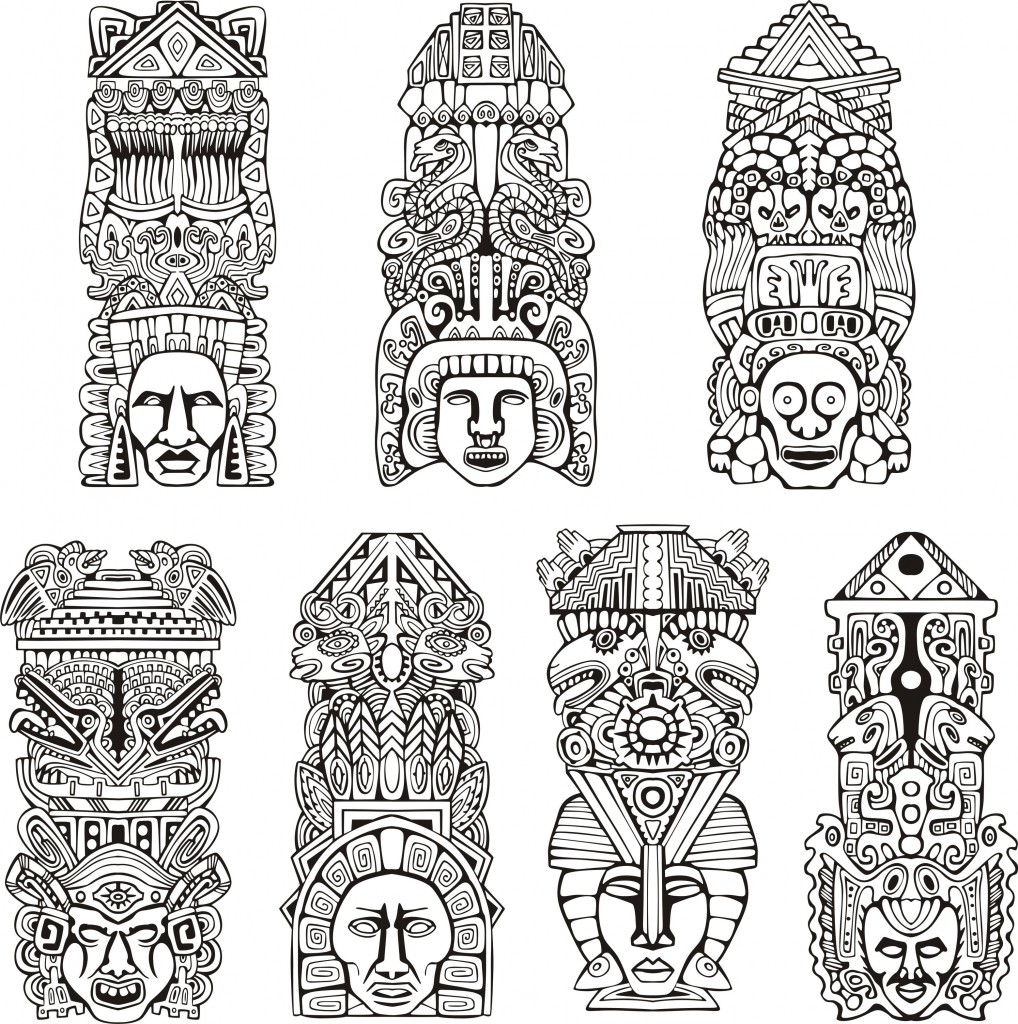 Our New Coloring Pages Gallery Mayans Incas And Aztecs