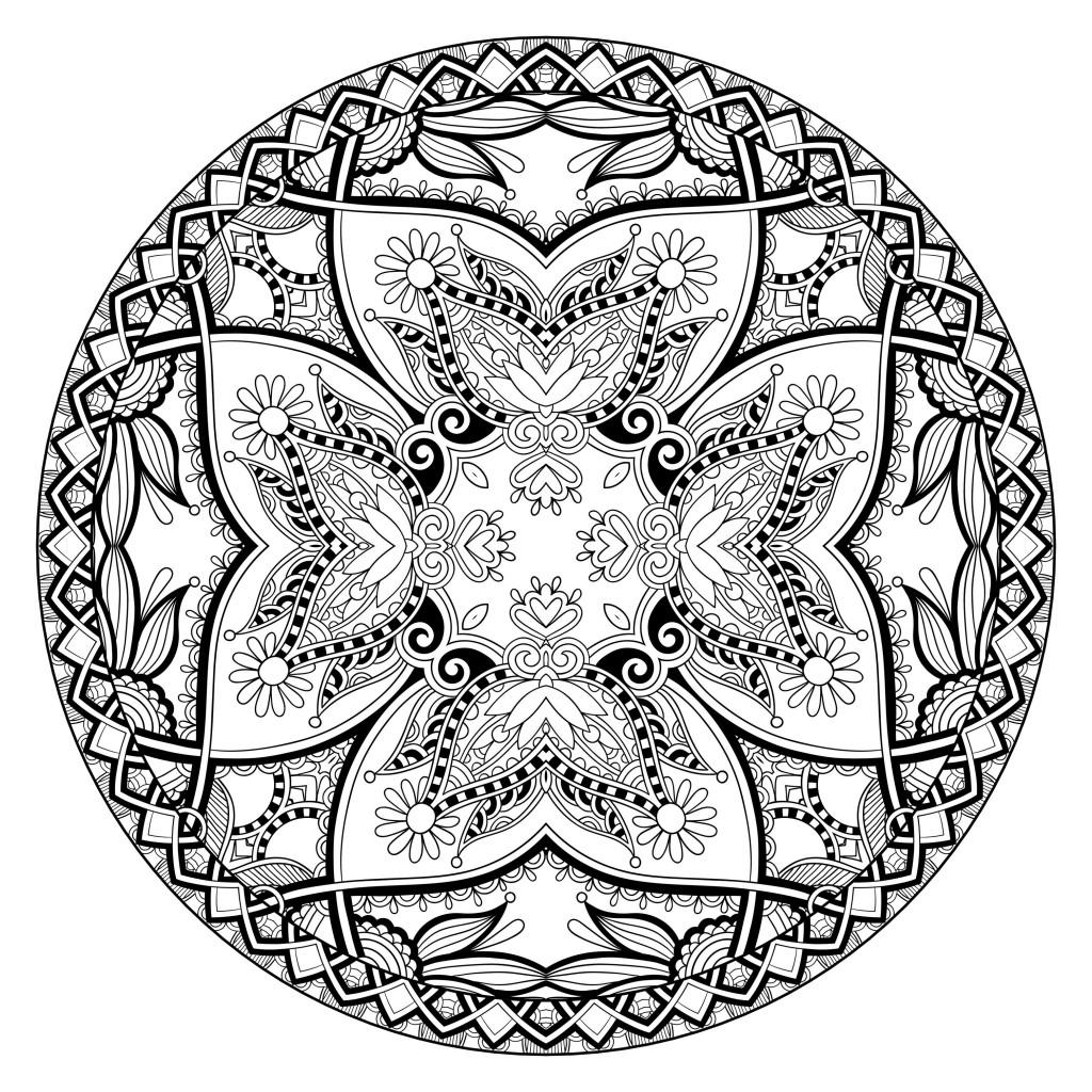 A 100% Zen Mandala