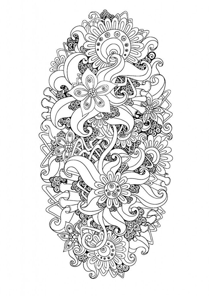 15 New Anti Stress Adult Coloring Pages Inspired By