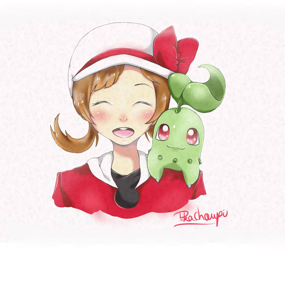 One of PikaChoupi's watercolors