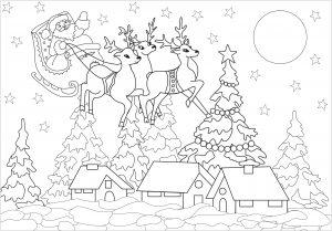 Natale 14408 Natale Disegni Da Colorare Per Adulti