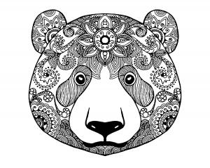 Baren 16605 - Bären - Malbuch Fur Erwachsene