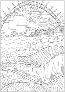 landschaften 38824 - landschaften - malbuch fur erwachsene