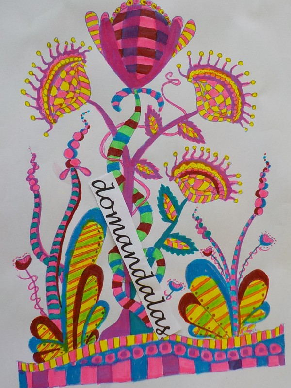 Creation by domandalas3bis, coloring page from the gallery Zentangle