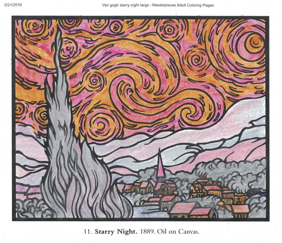 Creation by that guy mike, coloring page from the gallery Masterpieces