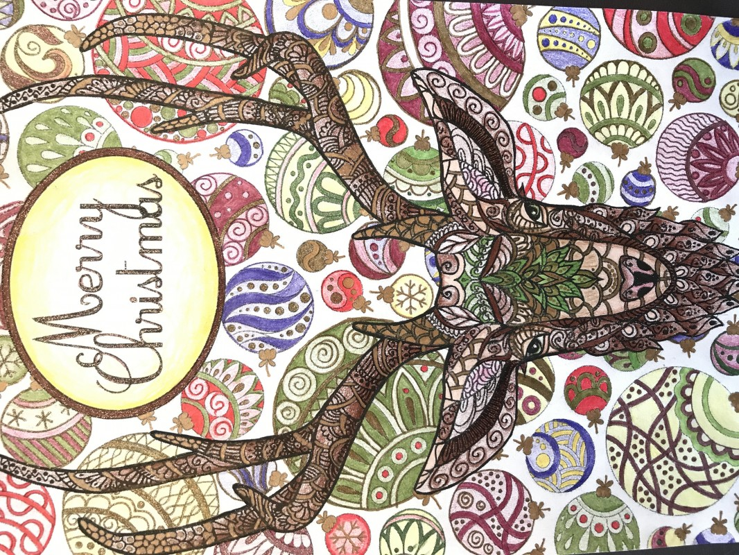 Creation by missie, coloring page from the gallery Christmas
