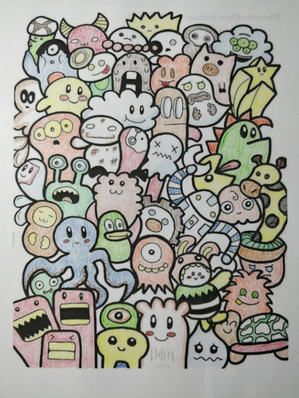 Creation by mike, coloring page from the gallery Doodle Art / Doodling